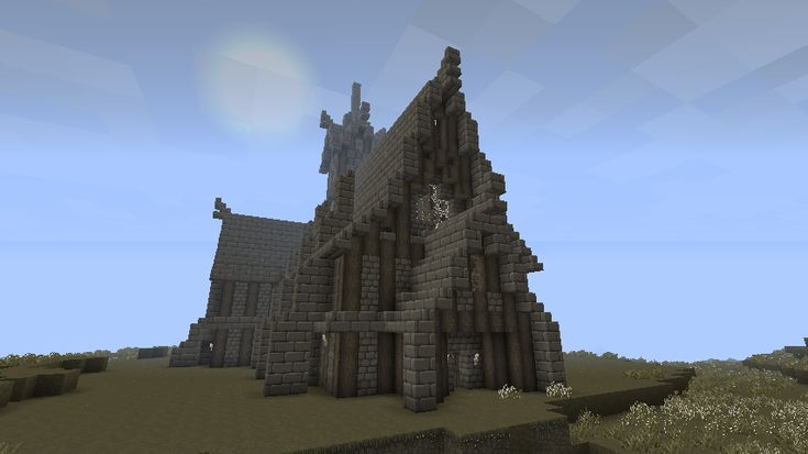 Church Minecraft Ideas Pinterest