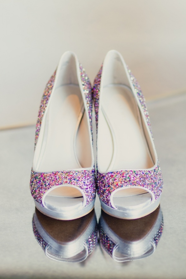 Glitter sprinkle shoes