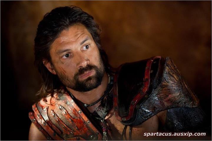 Spartacus Manu Bennett as Crixus | Spartacus | Pinterest