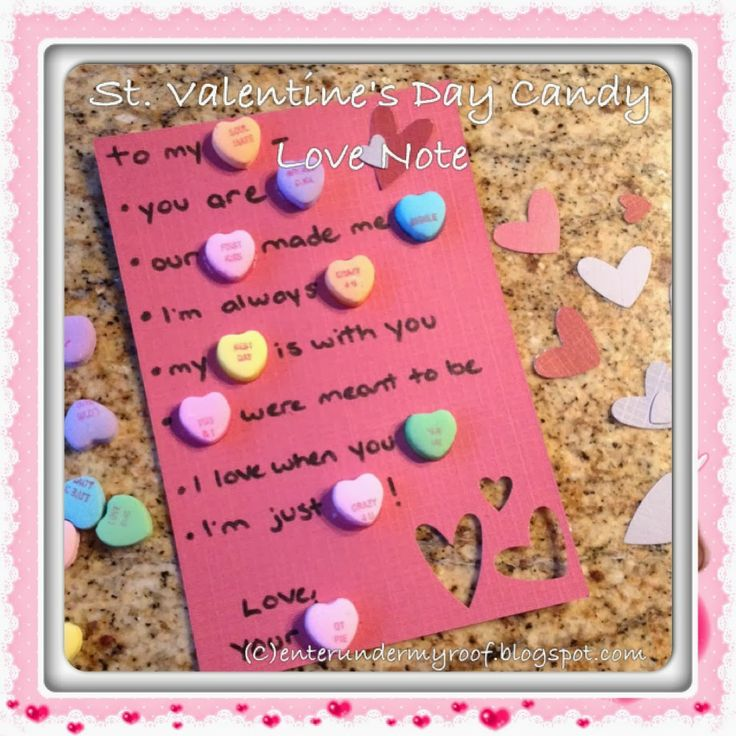 valentine notes for parents