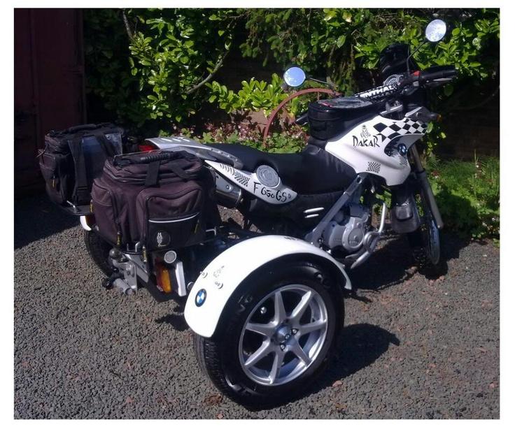 Bmw F650 Dakar Trike Bmw F650gs Pinterest
