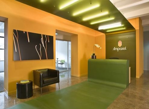 ovadia design group 39 s interior architecture of a small office space