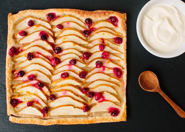 rustic tart rustic pear cranberry tart view pear and cranberry rustic ...