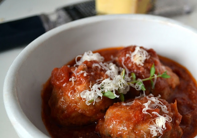 The view from Great Island: Meatballs al forno: Nancy Silverton's #23 ...