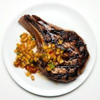 Pan-Roasted Brined Pork Chop - Bon Appétit