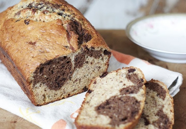 Marbled Chocolate Banana Bread | Sweet Treats: Quick Breads, Muffins ...