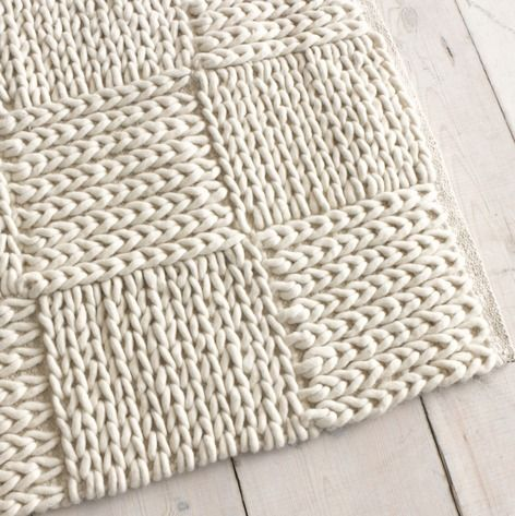 Medium guernsey floor rugs loaf diy deco pinterest for Floor knitting