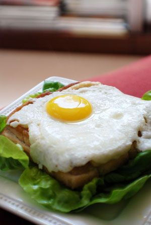 Croque Madame Sandwich ~ French Recipe | Eats. | Pinterest