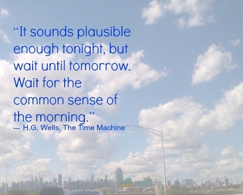 time machine quotes