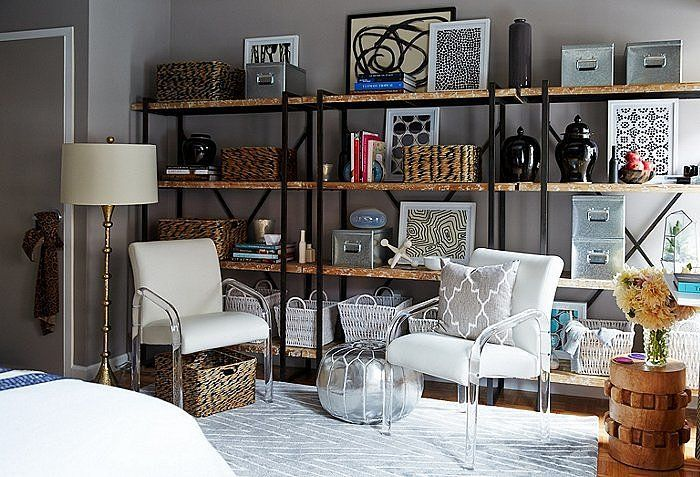studio apartment styling tips popsugar home