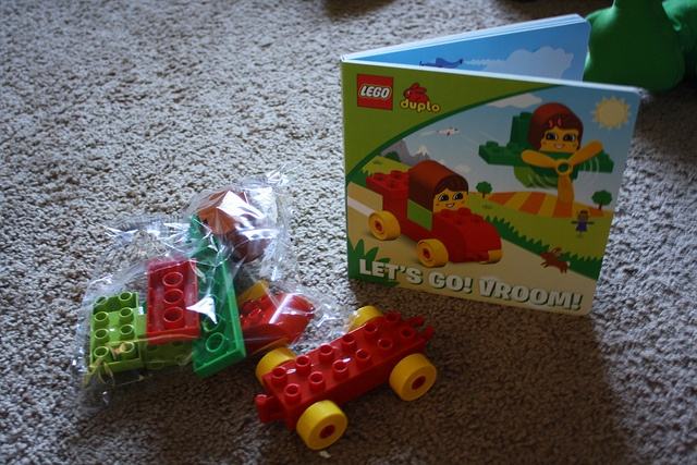 Lego duplo read and build books