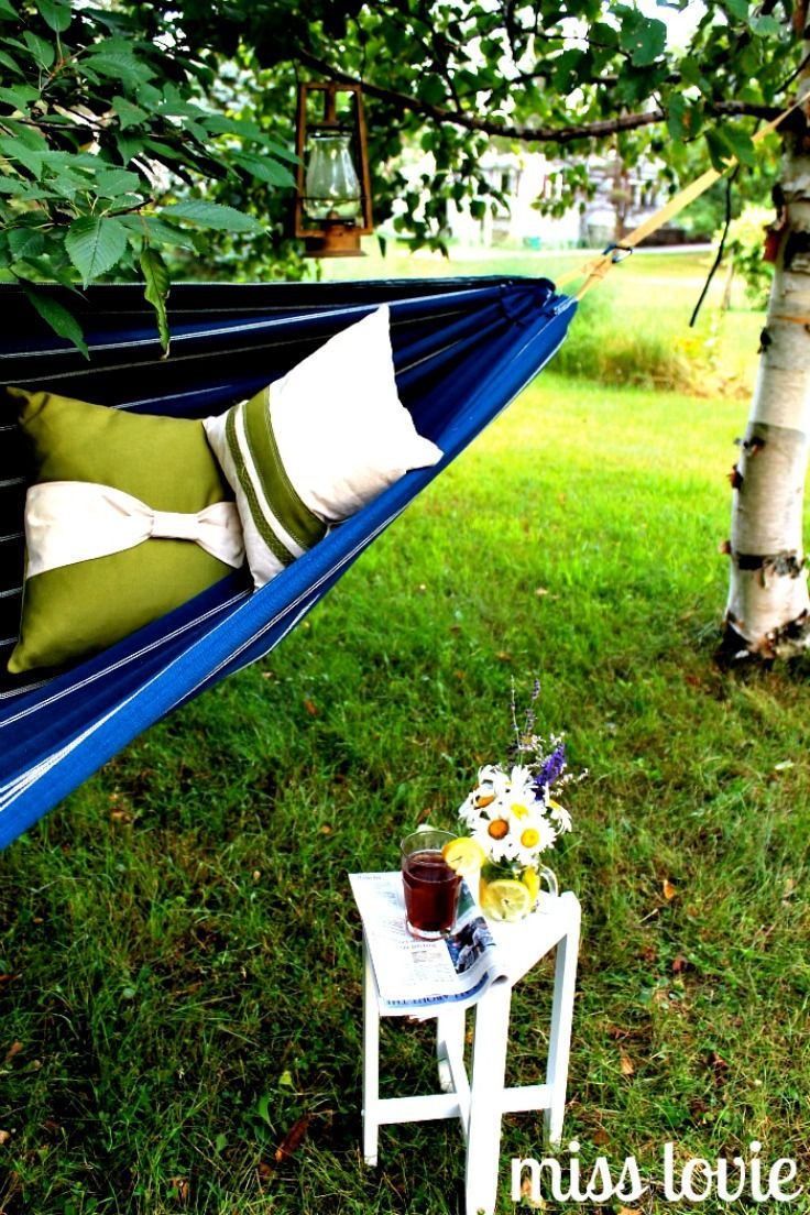 Best Backyard Hammock : Backyard Hammock