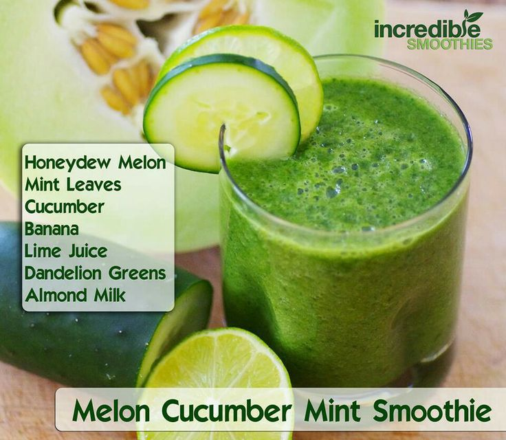 melon cucumber mint smoothie | juicing/smoothies/remedies | Pinterest