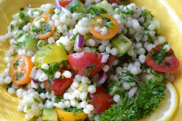 Mediterranean Couscous Salad | Food & Drinks | Pinterest