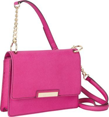 Calvin Klein Panama Leather Crossbody Magenta - via eBags.com! # ...