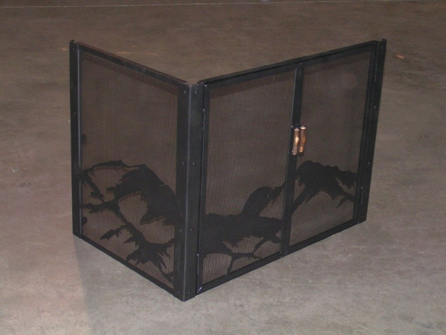 l shaped fireplace screen our home pinterest