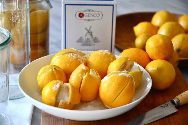 Preserved Meyer Lemons | Cooking | Pinterest