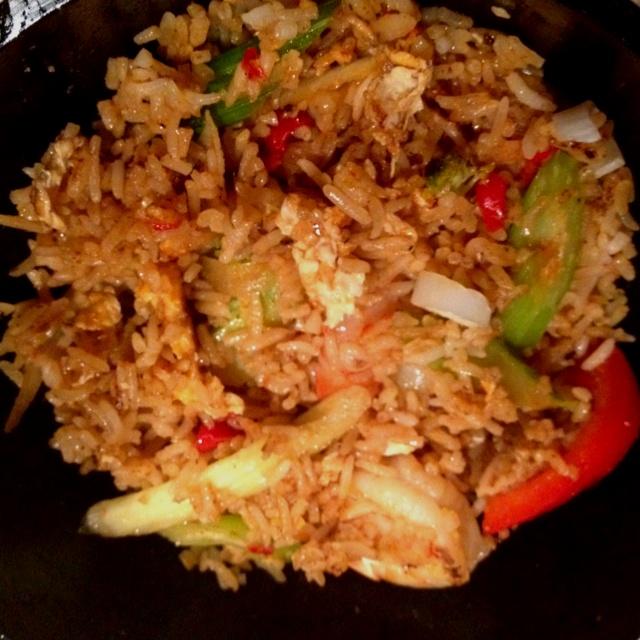 Tom yum fried rice at Wok Noodle Bar. | food | Pinterest