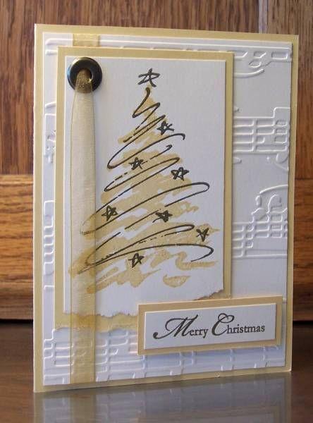 Golden Tree. think O' christmas tree sentiment