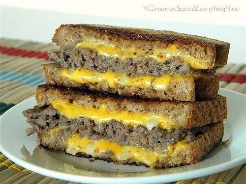 Katie Lee's Award Winning Logan County 'Grilled Cheese' Burger
