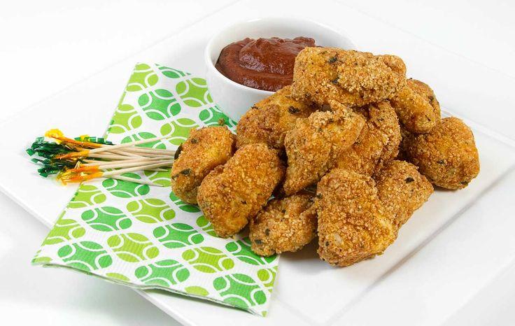 Chicken Nuggets / @DJ Foodie / DJFoodie.com