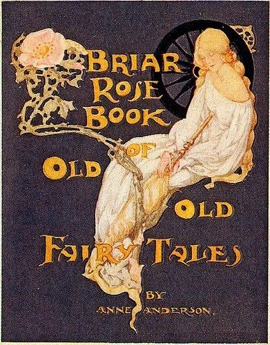 Old Fairytale Book Cover ~ I adore old fairy tale book covers books of fairies