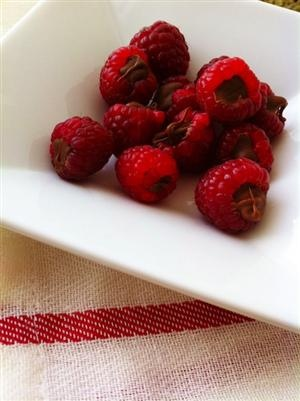 Recipe: Chocolate Filled Raspberries | Recipe Book | Pinterest