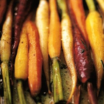 Pan-Braised Carrots with Orange and Rosemary