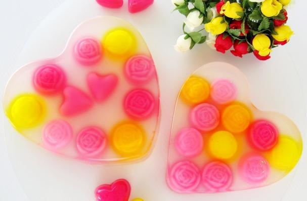 valentine's day jelly cookies