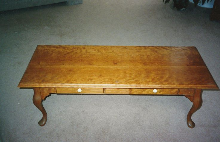 Cherry Queen Anne Coffee Table Products I Love Pinterest