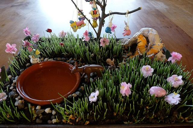 Easter garden idea for the mini people pinterest for Easter garden designs