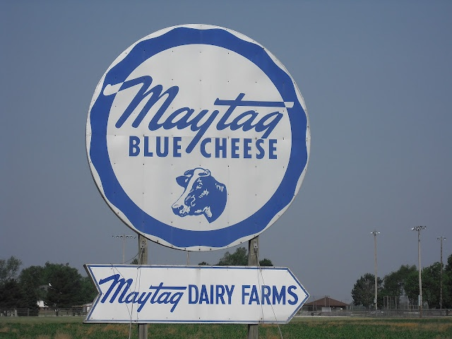 Get Maytag Blue Cheese at its source; Newton, IA