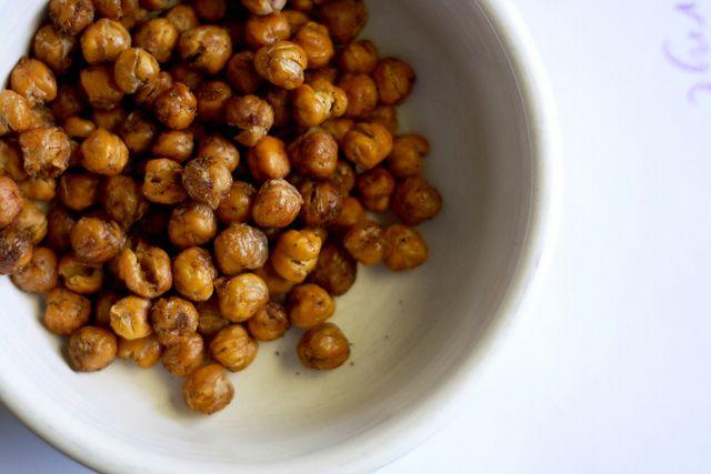 Crunchy Spiced Chickpeas | Recipe