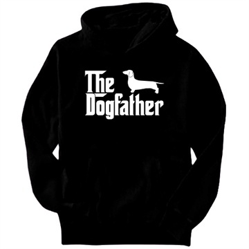 The Dogfather Dachshund Hoodie for Al! | Friends | Pinterest