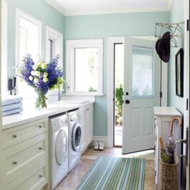 Color For Laundry Room Decor Ideas Pinterest