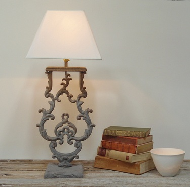 Antique balustrade table lamps. | Interior Design | Pinterest