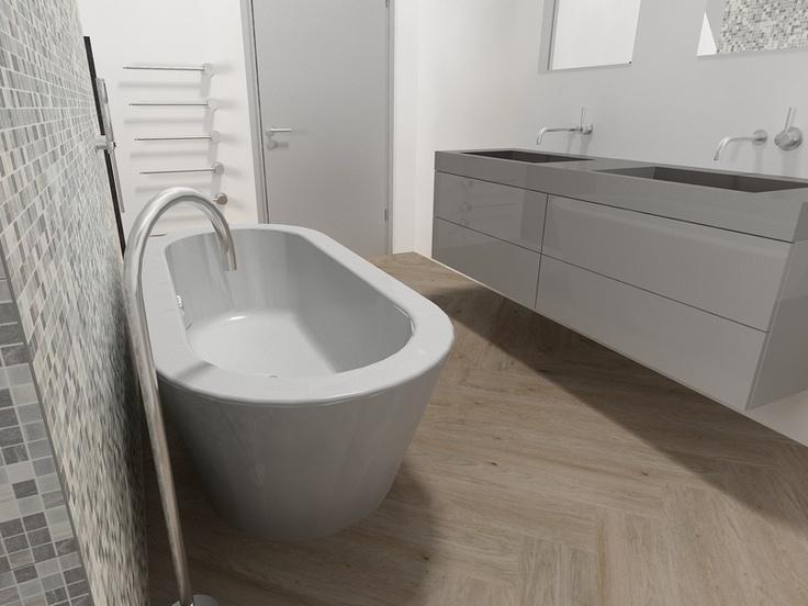 De Eerste Kamer - Ontwerpen | Badkamer | Pinterest