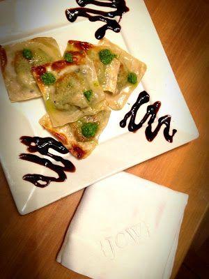 Chicken, Pesto, and Asiago Ravioli {three ways!}