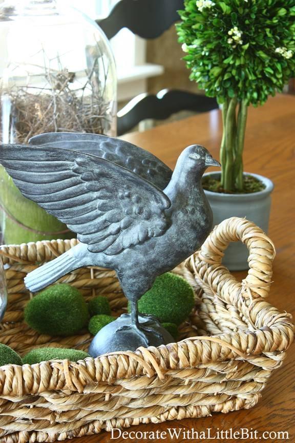 faux zinc dove