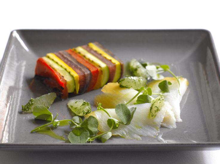 Roast Summer Vegetable Terrine | Weddings at BAFTA 195 Piccadilly | P ...