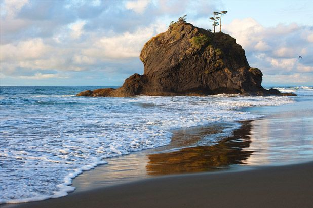 Don't underestimate the Washington coast. Photo by Christine Cox.