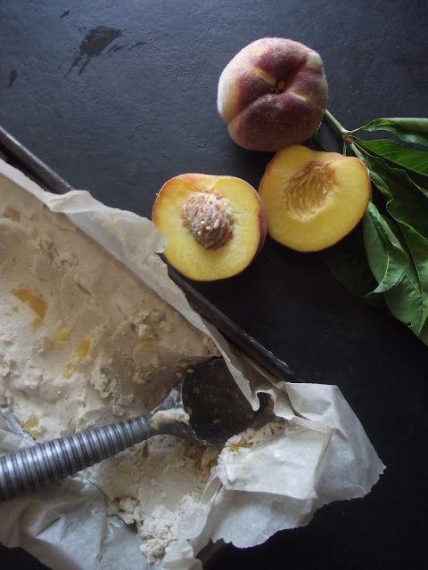 Peaches 'n Ice Cream | Sensational Stone Fruit | Pinterest