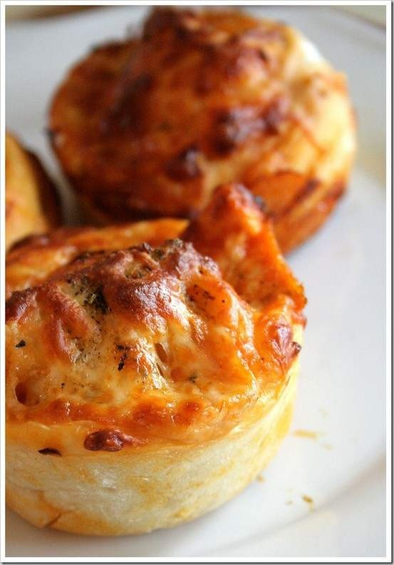 Buffalo Chicken Cupcakes | recipes | Pinterest