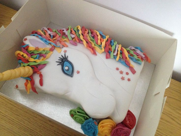 Unicorn Birthday Cake Design : Unicorn Birthday Cake For Maura Pinterest
