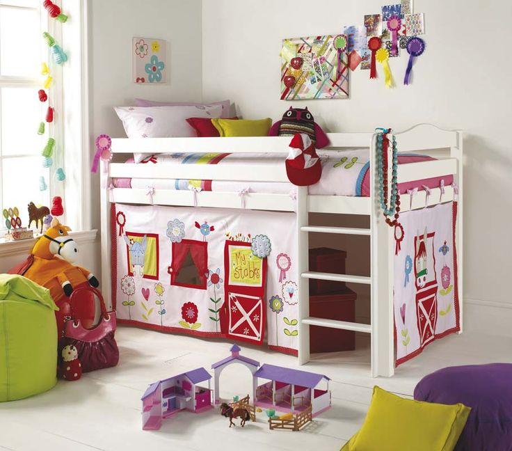 Camerette per bambini struttura kura di ikea le for Immagini camerette ikea
