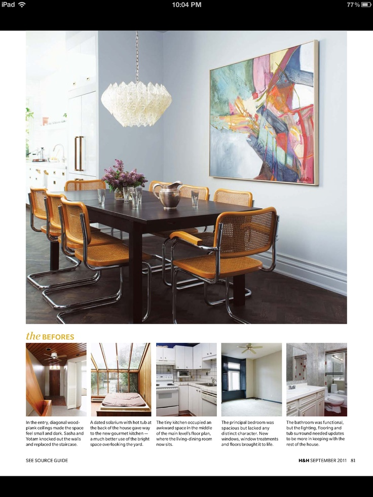 Dining Room Via Elle Decor Stay Pinterest