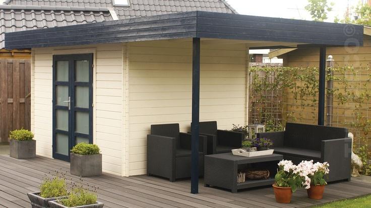 Tuinhuis Extramodern voor u20ac 1.599,00 - Tuinhuisjes Land, online ...