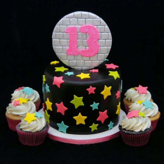 Dance Party Cake Images : Dance party cake and cupcake party Pinterest