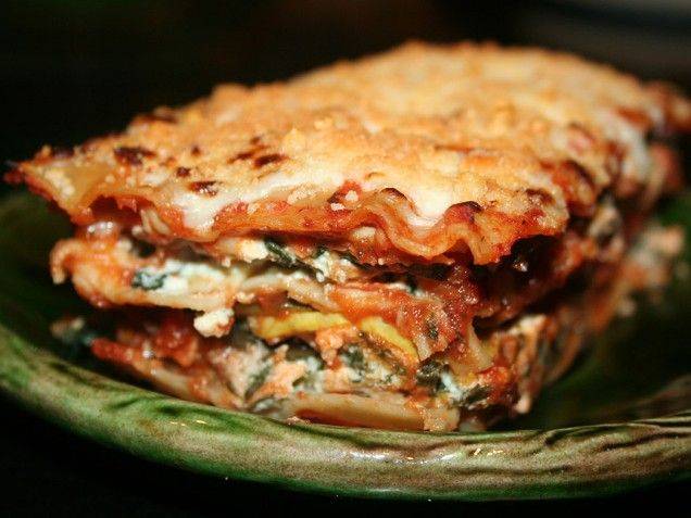 Mini Vegetable Lasagnas Recipe — Dishmaps