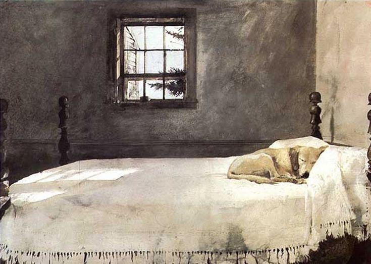 andrew wyeth master bedroom 1965 art architecture pinterest